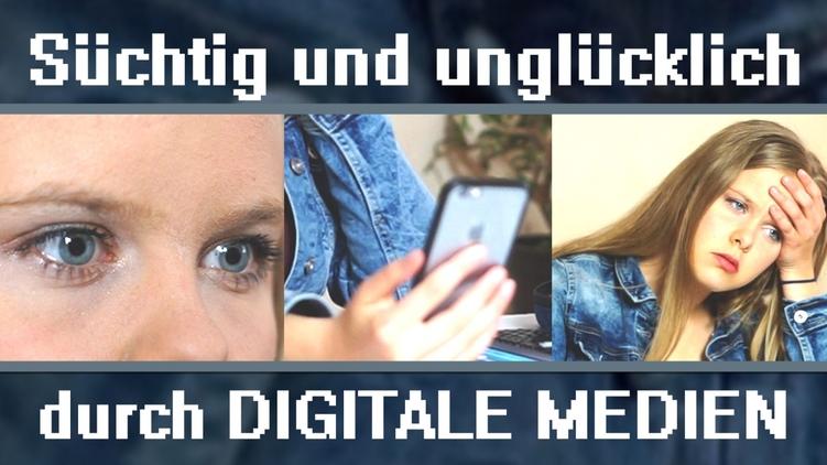 Süchtig und unglücklich durch digitale Medien