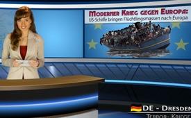 Šiuolaikinis karas prieš Europą: JAV laivais gabena pabėgėlius į Europą