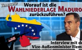 Entrevista con el Vicecanciller de Venezuela: